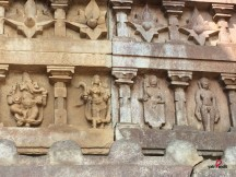 Art Work on Walls of Ramappa Temple