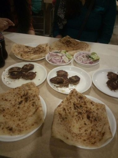 Tunday Kabab and Rumali Roti IC- Shravani