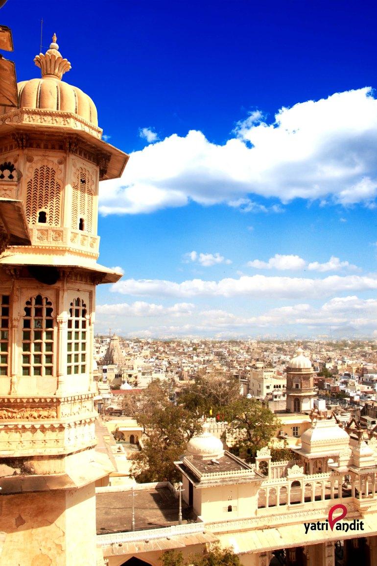 Udaipur skyline