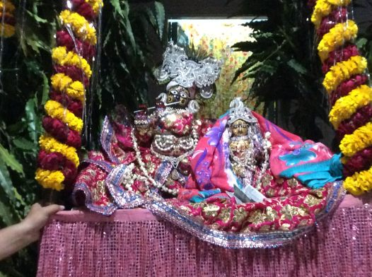 Main temple - Radha Krishna idol