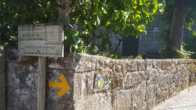 Follow the Yellow Arrows to Santiago